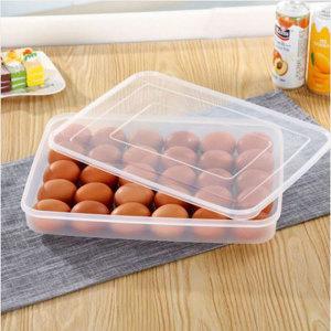 계란케이스 30알 보관가능 냉장 실온 달걀통 뚜껑형