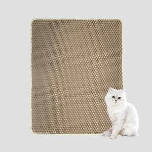 사막화방지매트 M 베이지 /고양이모래매트 / 모래발판