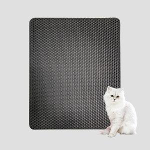 사막화방지매트 M 블랙 /고양이모래매트 / 모래발판