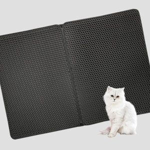사막화방지매트 L 블랙 /고양이모래매트 / 모래발판