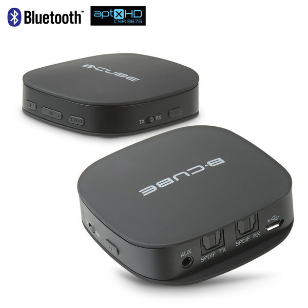 aptX HD 오디오 블루투스 송수신기 광포트 APBTR505