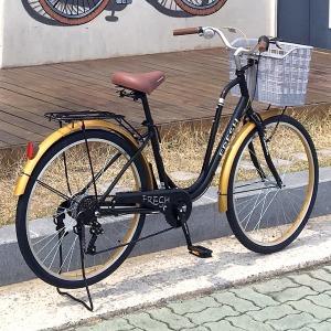 엣지 프레쉬26인치 여성용자전거 7단 알루미늄 핸들
