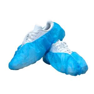 일회용 부직포 덧신 (파란색) 100매 (50켤레)