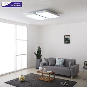 삼성칩 시스템거실등 LED120W  화이트(SP22)LR