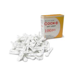 아큐첵 전용 쿡소프트란셋 28G 채혈침/사혈침 100개입