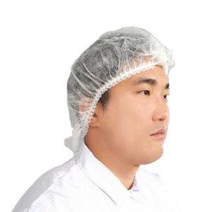 일회용 부직포 헤어캡 50매 하얀색 //얇은 일반형// 몹