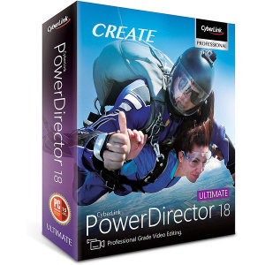 PowerDirector 18 Ultimate 한글 ESD / 파워디렉터