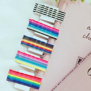 색깔실핀 10개세트 5color 색깔실삔 컬러실핀 실핀