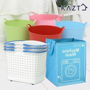 소프트빨래바구니1+1 세탁바구니 빨래통 세탁망 수납