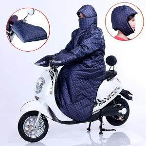 여성 오토바이 바이크 스쿠터 바람막이 장갑 방수담요