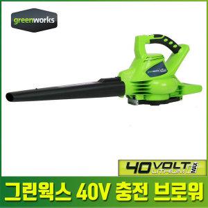 40V 전기 무선 충전 브로워 송풍기 충전식 낙엽 베어T