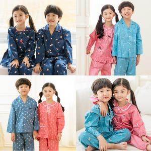 아동잠옷/주니어/수면/실내복/파자마/원피스/상하세트