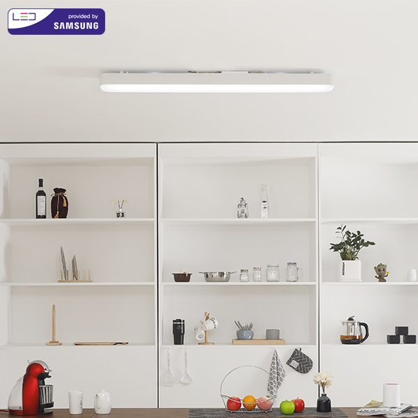 삼성칩 시스템주방등 LED60W  화이트(SP552)KBK