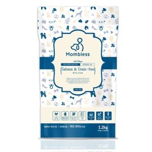 맘블레스 연어전견용 1.2kg/습식사료/그레인프리