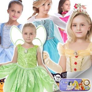 할로윈 프린세스 코스튬 유아 아동 공주 드레스 의상
