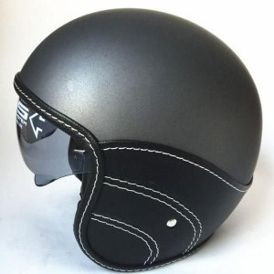 DOT 표준 인증 가죽 할리 레이싱 오토바이 패션 헬멧