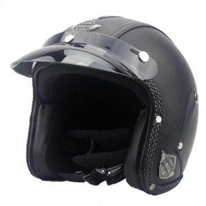 DOT정품 할리 레트로 오토바이 남여공용 하프 헬멧
