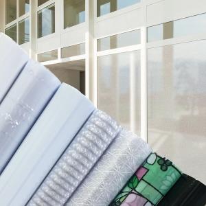 UV 무점착 포인트 쏠라 기능성 창문시트지 비산방지
