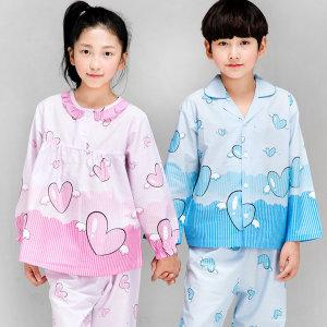 아동 국산잠옷 65~85 국산 아동잠옷 천사요정(긴팔)