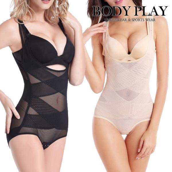 보정속옷/여성/다이어트/더블 엑스 파워 올인원