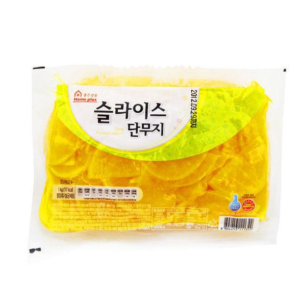 슬라이스단무지_1kg