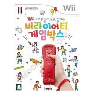 Wii 버라이어티 게임박스 소프트단품 중고