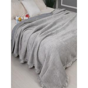 스프레드 한국 침대덮개 한면 한벌 단모융 겨울용