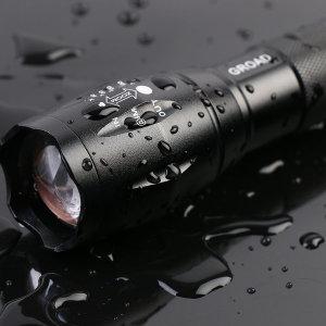 자전거 강력줌 라이트 용품 LED 전조등 후레쉬 T6