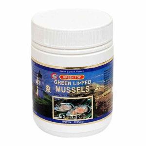 Greentop Mussel 그린탑 초록입홍합 1000mg 500캡슐
