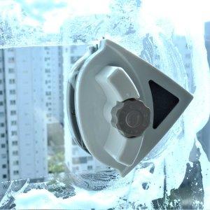 아파트유리창청소 베란다창문 자석창문닦이 (5-25mm용)