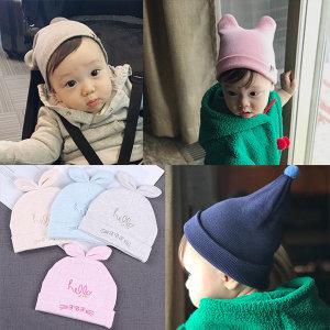 신생아비니/아기비니/아기터번/돌아기/백일/유아비니