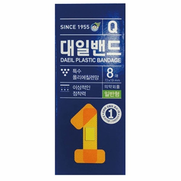 대일)대일밴드Q(일반형/8매)