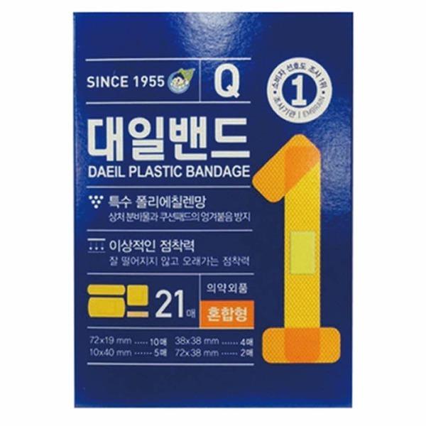 대일)대일밴드Q(혼합형/21매)