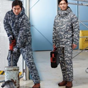 KSK682 겨울 방한 작업복 정비복 방한복 점퍼 낚시복