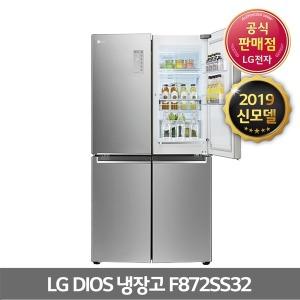 4도어 냉장고 F872SS32 매직스페이스 전국무료배송Y