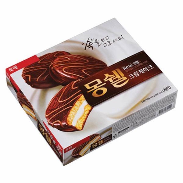 롯데)몽쉘(크림케이크/384g/12개입)