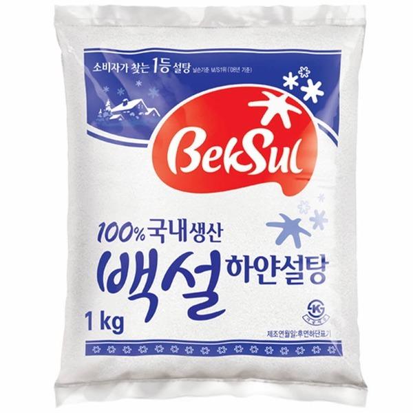 백설)백설탕(1kg)