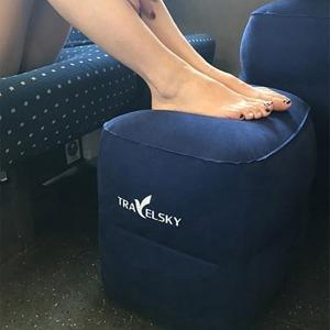 여행용 차량용 발 다리 의자 쿠션 받침 발판 받침대