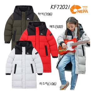 (현대백화점)네파키즈 KF72021 포르테 벤치다운자켓/아동롱패딩 아동구스다운점퍼 아동거위털점퍼 아동벤치