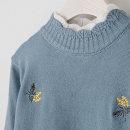 보미더블폴라 니트 가을 겨울 니트티 미시옷 엄마옷