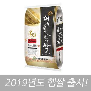 햇빛담은쌀 20kg 19년산 햅쌀 (당일도정)