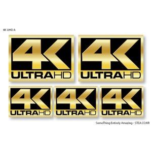 4K UHD 스티커SET
