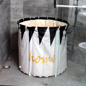 접이식 욕조 이동식욕조 반신욕조 온수욕조 스파 목욕