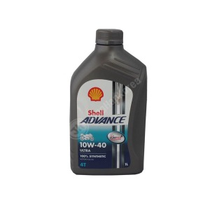 shell ADVANCE 4T ULTRA 10W-40 오토바이오일 1L/ 쉘