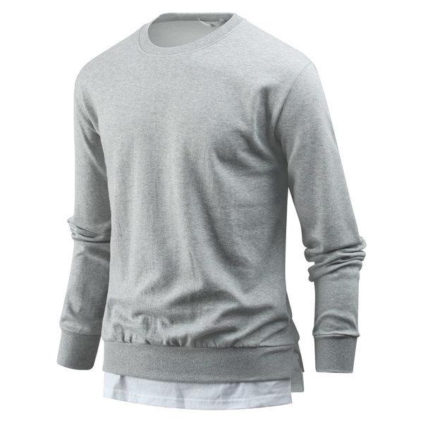 남자 티셔츠 훈훈한 레이어드 남성 맨투맨티 tm0600