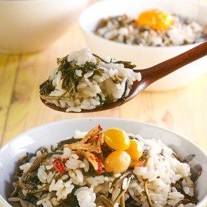 비비는 곤드레/시래기/취나물 비빔밥용 즉석나물밥4종