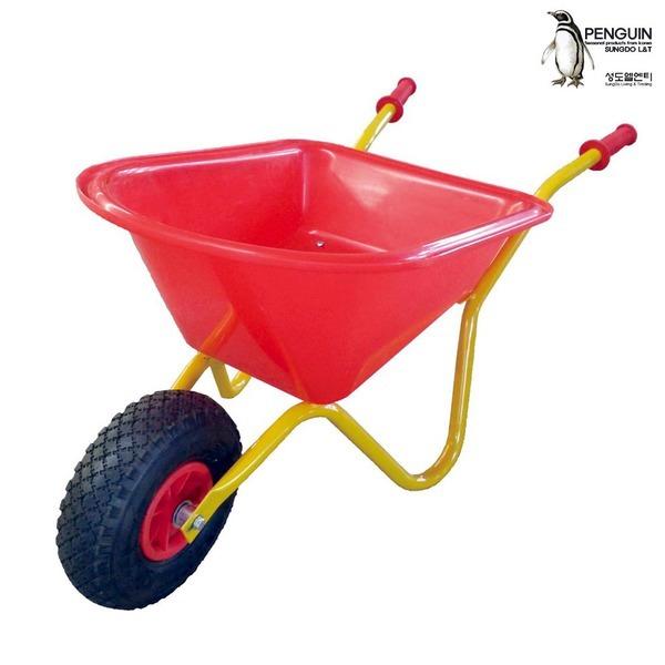 에어바퀴 미니 손수레/니어카 WBP1S 운반기 운반카