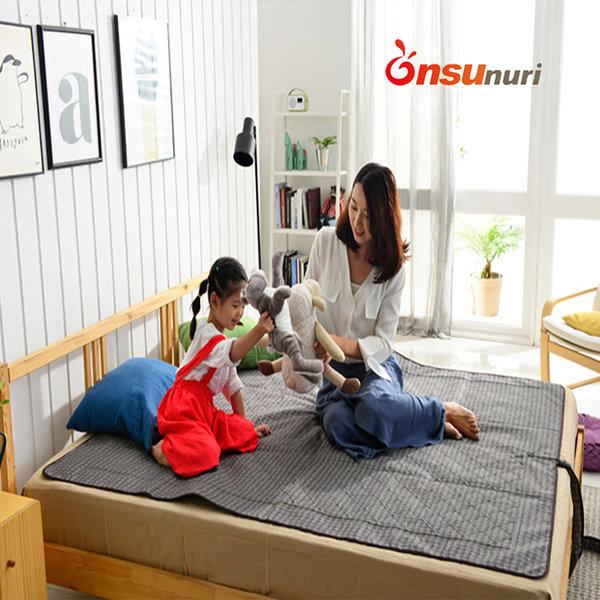초슬림 해외용 110V 더블 온수매트 OMFM-2900D