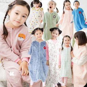 무배특가/국내산 F/W 슬립쌕/유아동/초등 수면조끼