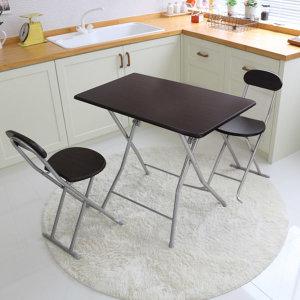 접이식 식탁 의자세트 렌지대 테이블 간이보조 탁자